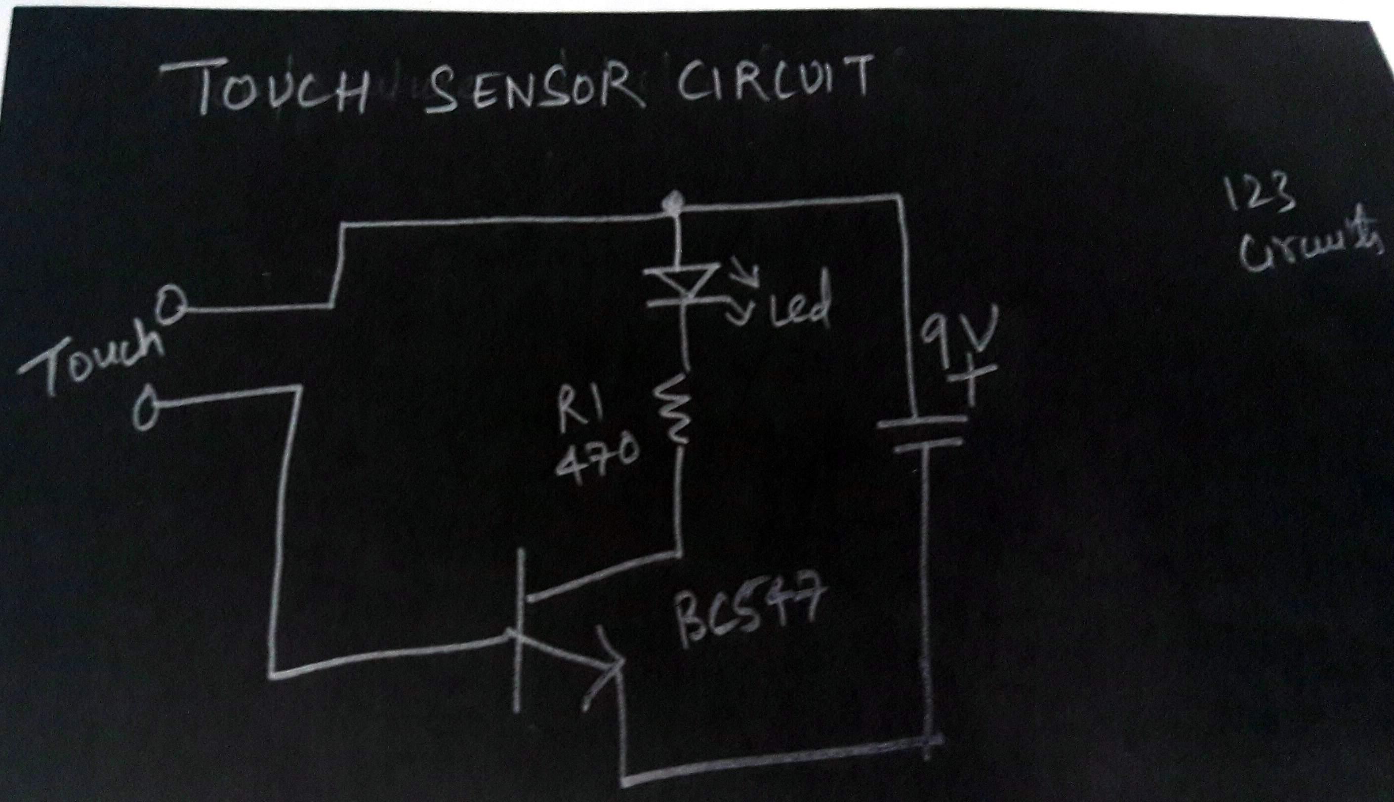 Electronics Tutorial Circuits Schematics Light Dark Sensor Circuit Rs232 Burglar Alarm Rain Detector Usb Charger Car Battery Monitor